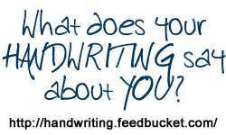 Handwriting Analysis